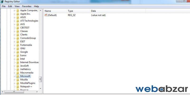 حذف برنامه ها در ویندوز