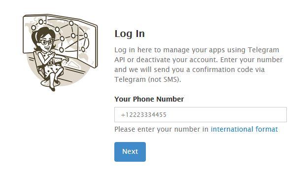 وارد کردن شماره تماس برای دریافت کد ورود