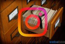 آموزش آرشیو کردن پست ها در اینستاگرام