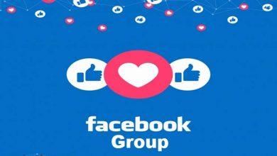 ایجاد گروه فسبوک