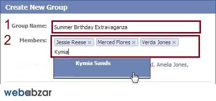 ایجاد گروه در فیسبوک